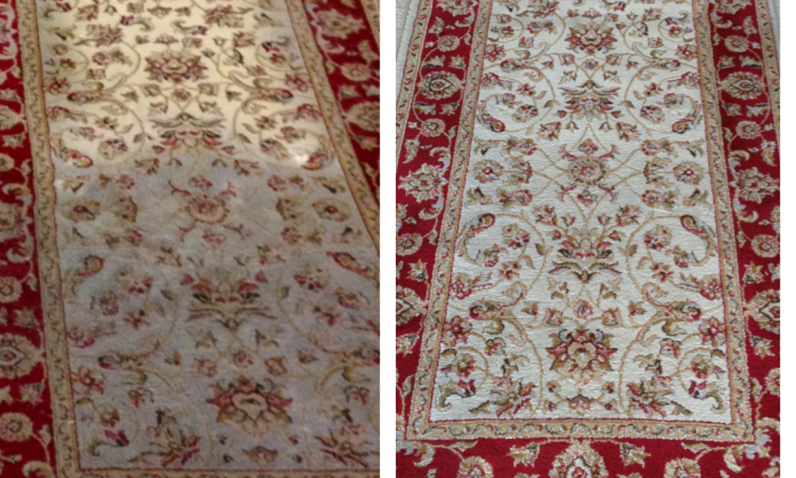 Rug Cleaning Before and After 1