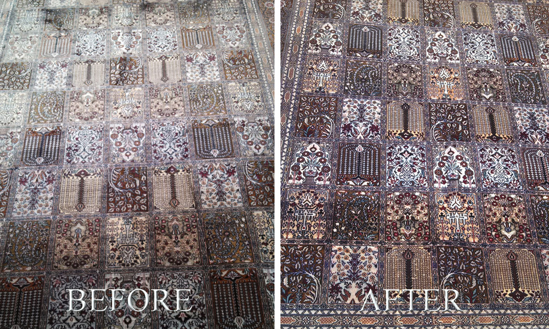 Rug Cleaning Before and After 3