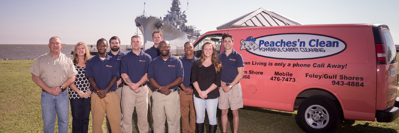 Peaches N Clean Carpet Cleaning Daphne Mobile Gulf Shores